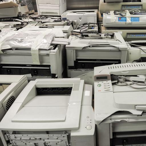Smaltimento, raccolta e riciclo stampanti